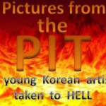 Pictures from Hell  Drawn by a young Korean artist