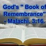 CRISTIAN CEBEY : THE BOOK OF REMEMBRANCE, BOOK OF LIFE, BOOK OF RAPTURE IN HEAVEN